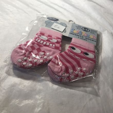 6-12 Month Funny Time Socks